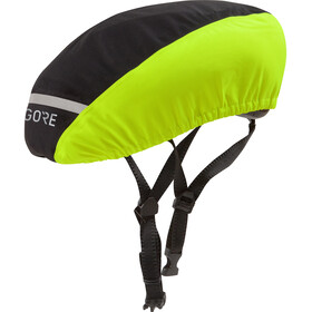 GORE WEAR C3 Cubierta Casco Gore-Tex, black/neon yellow